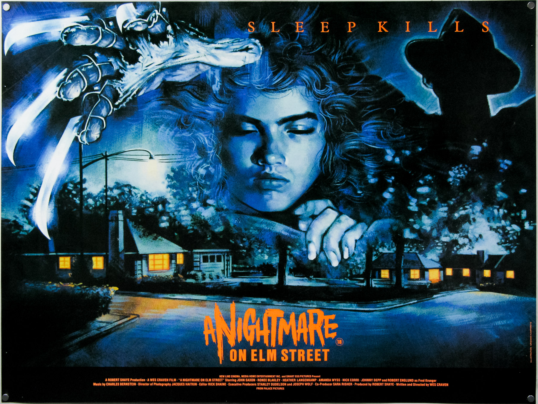 A Nightmare on Elm Street - quad - by Graham