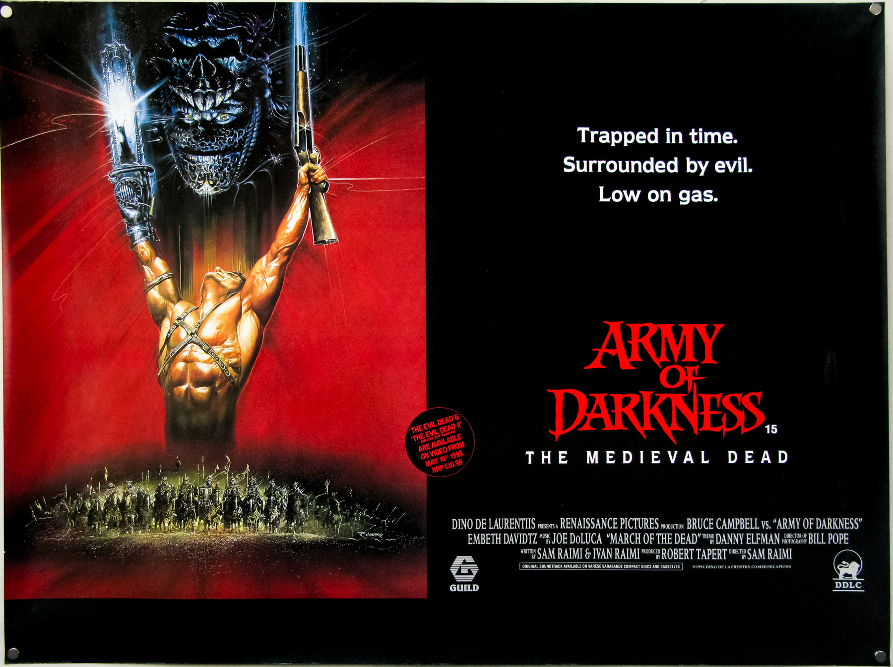 Army Of Darkness / quad / UK