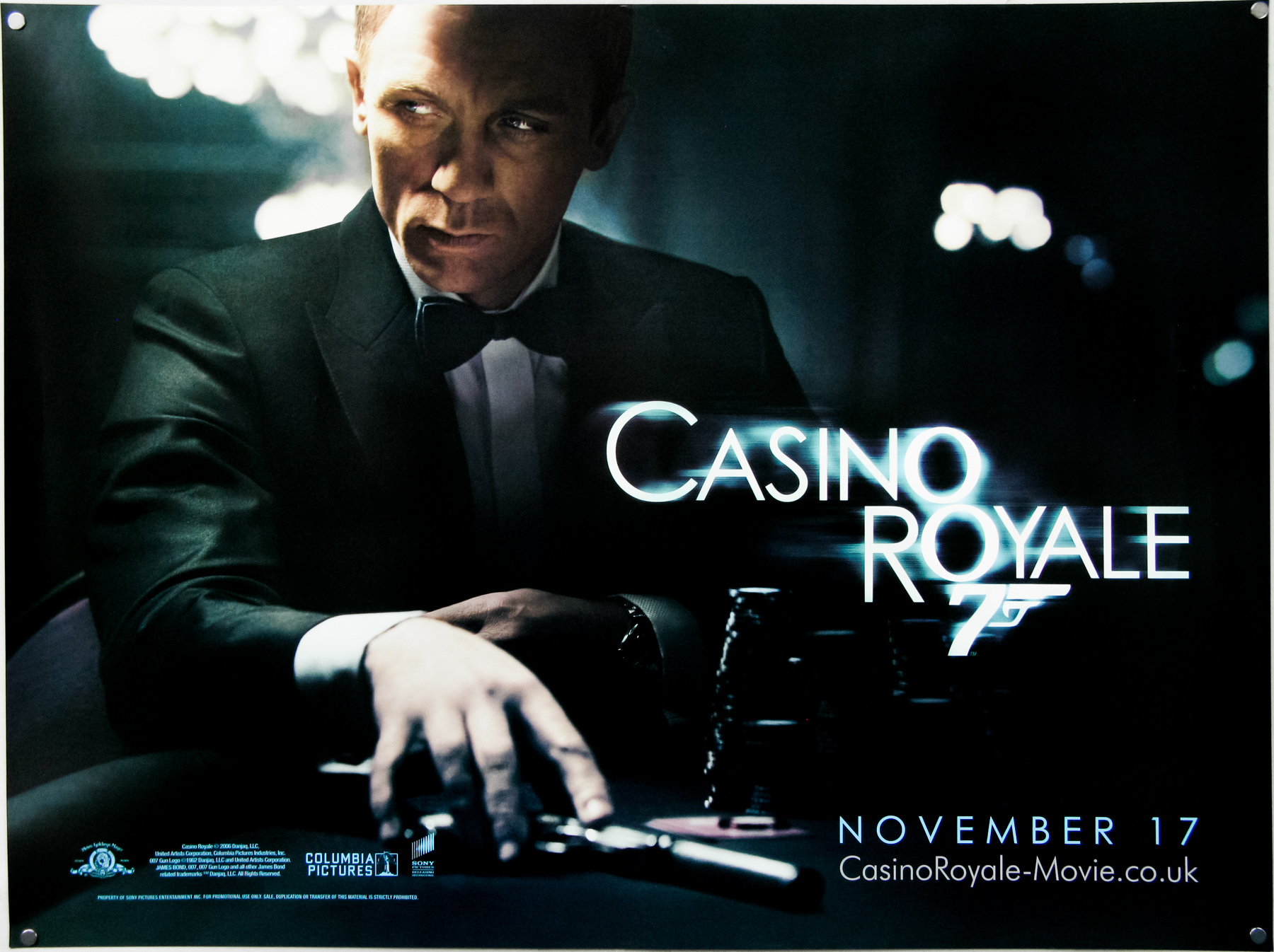 Image result for casino royale film poster