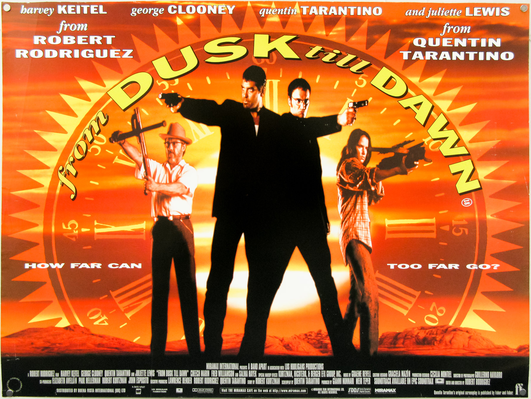 From Dusk Til Dawn – quad poster by Graham Humphreys