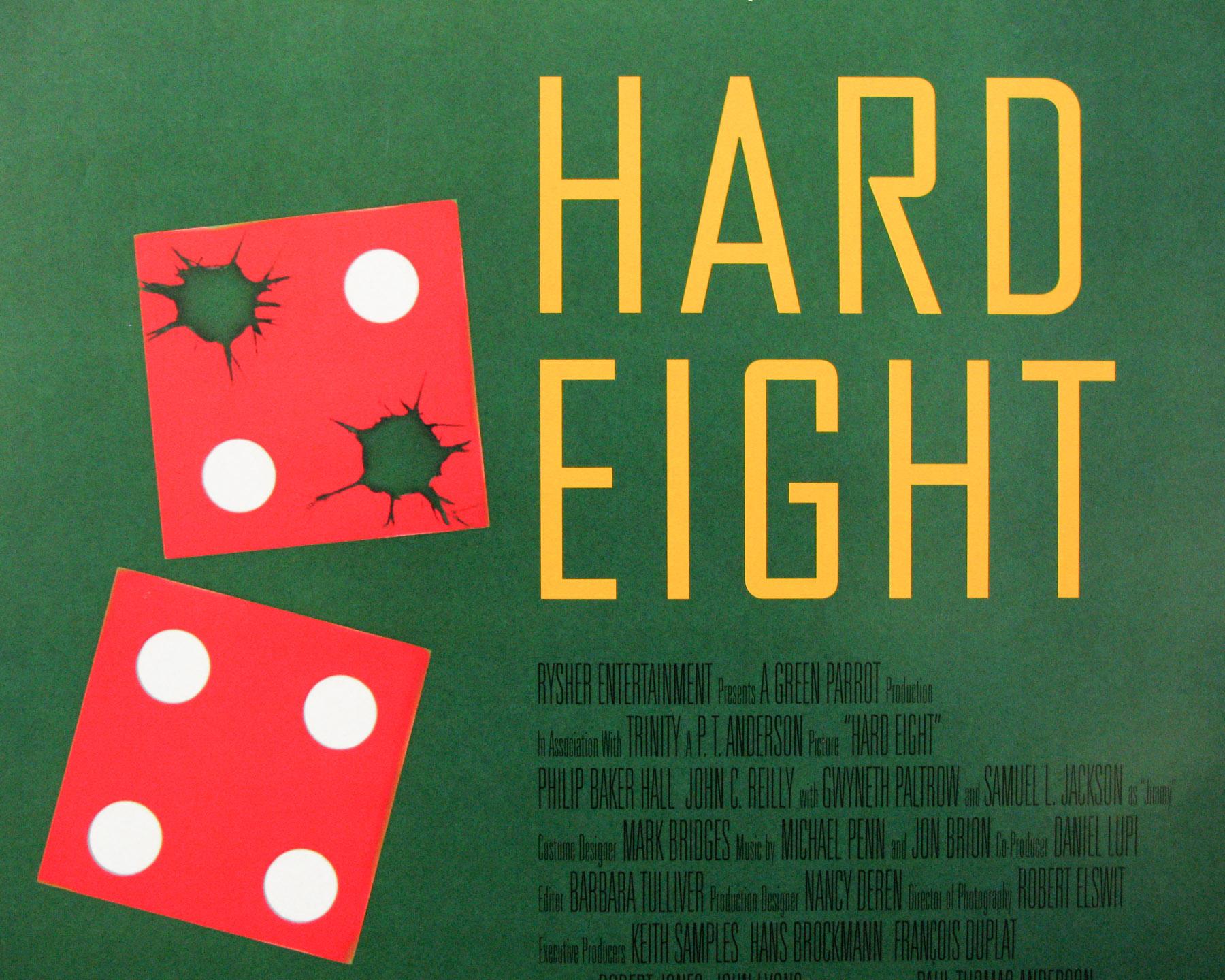 Hard Eight / one sheet / USA