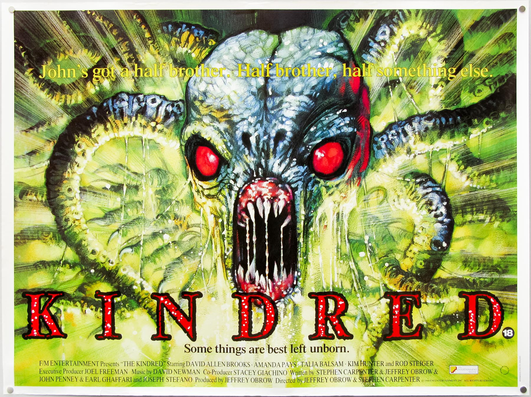 Kindred – quad poster by Graham Humphreys
