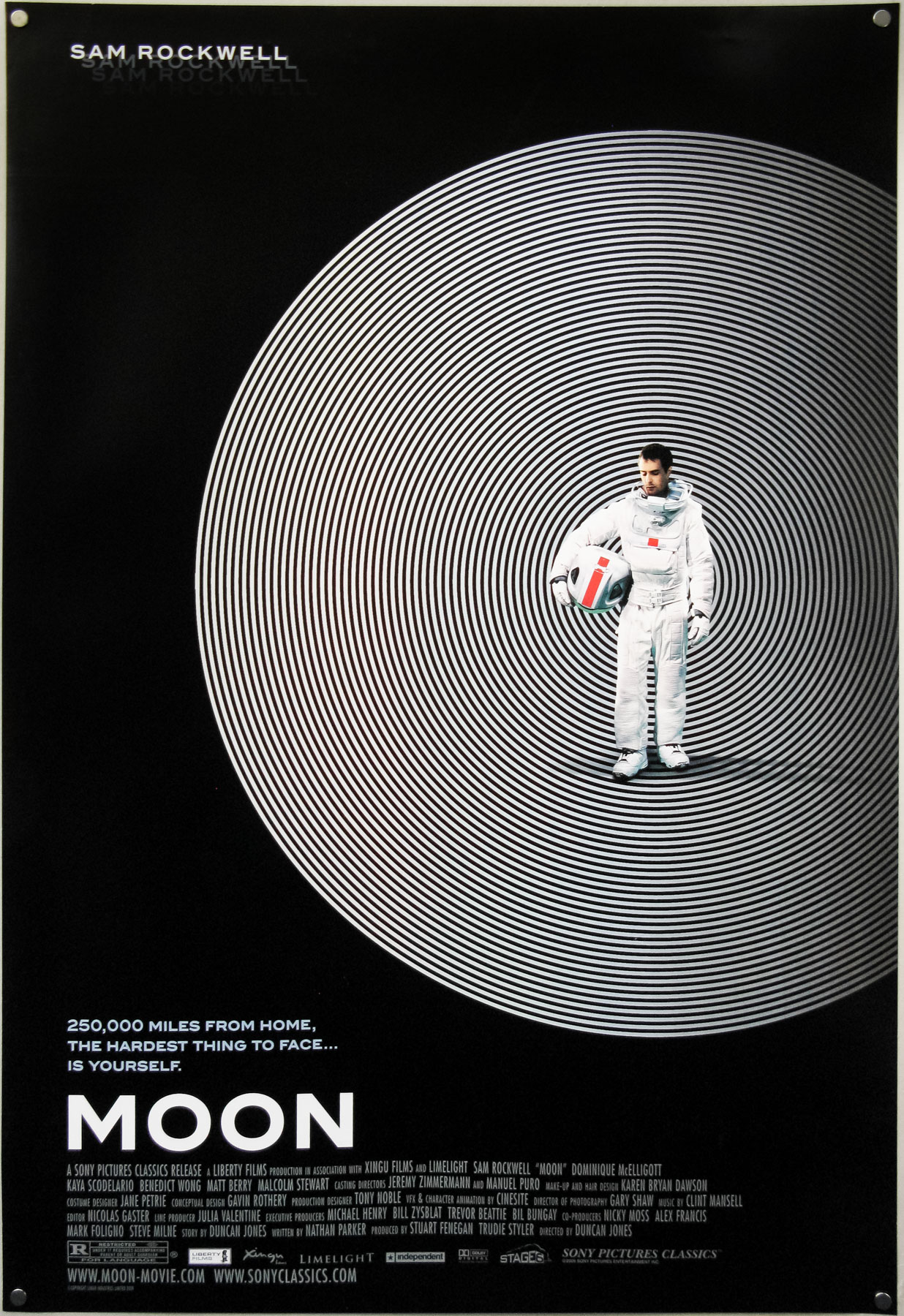 Moon – one sheet – designed by Cardinal Communications USA