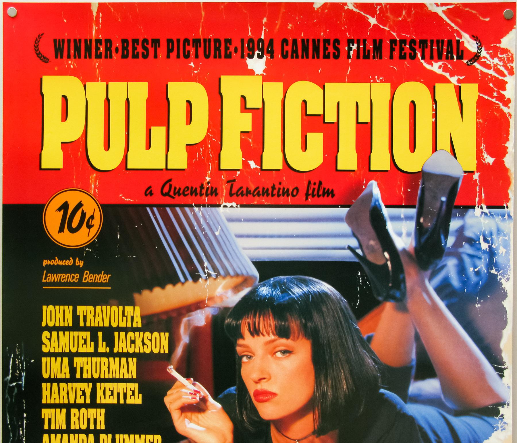 Pulp Fiction / one sheet / final / USA