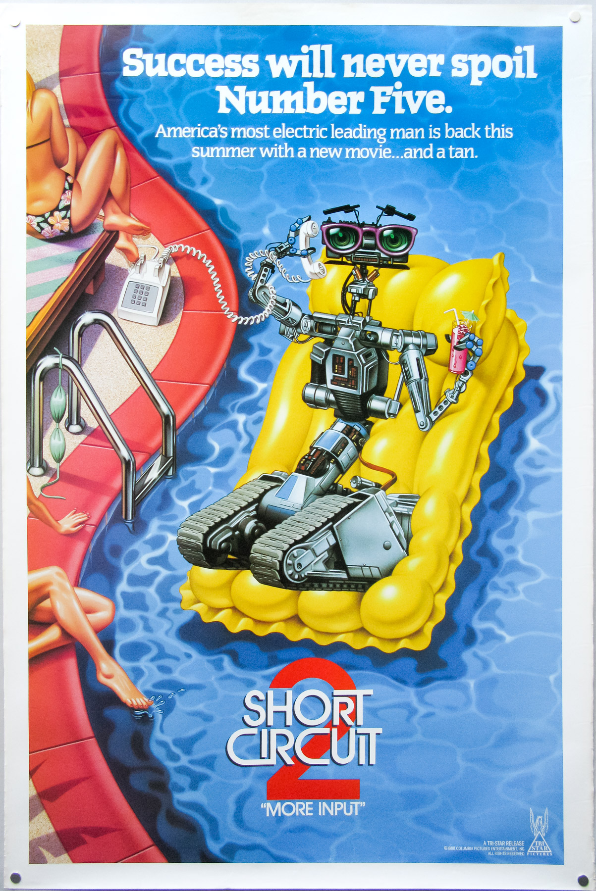 Short Circuit 2    One Sheet    Teaser    Usa