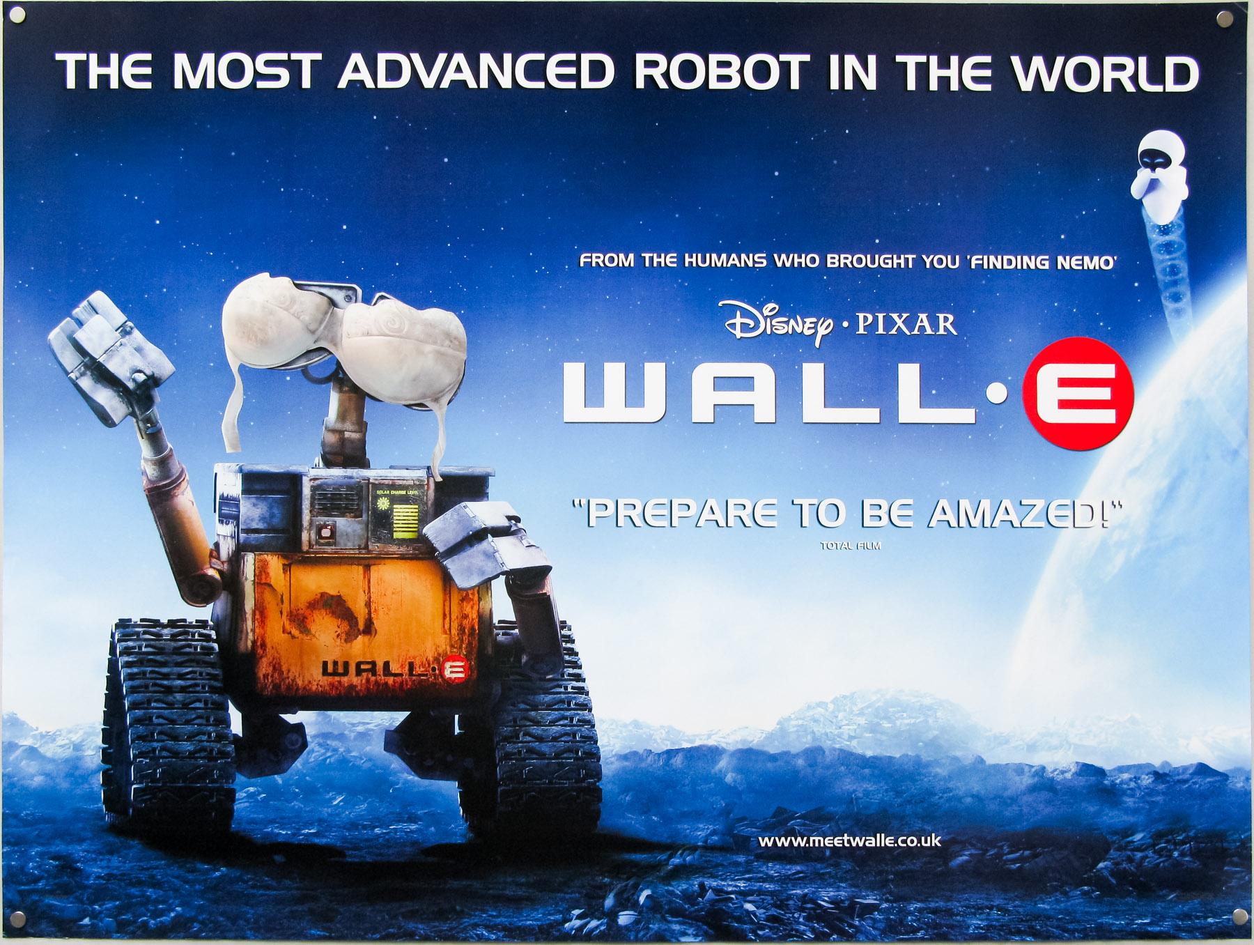 Wall-E / quad / bra style / UK