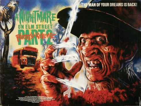 A Nightmare on Elm Street 2 - quad poster