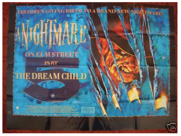 A Nightmare on Elm Street 5 - quad poster