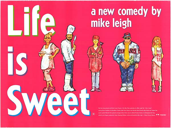 Life is Sweet - quad poster