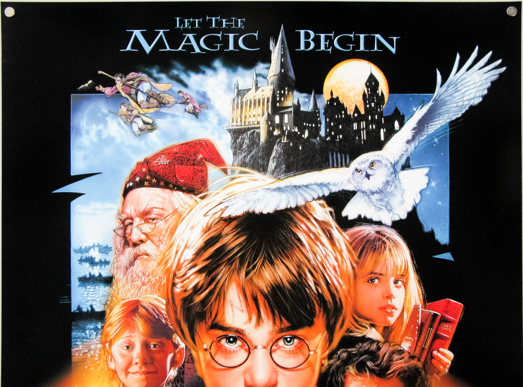 Harry Potter And The Sorcerers Stone One Sheet Drew