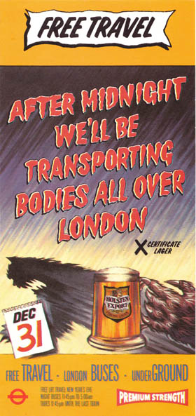 London Transport leaflet