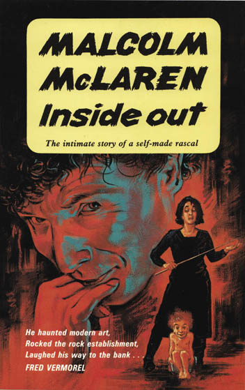 Malcom Mclaren - book cover design