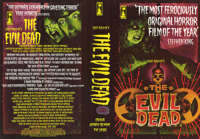 The Evil Dead - VHS cover