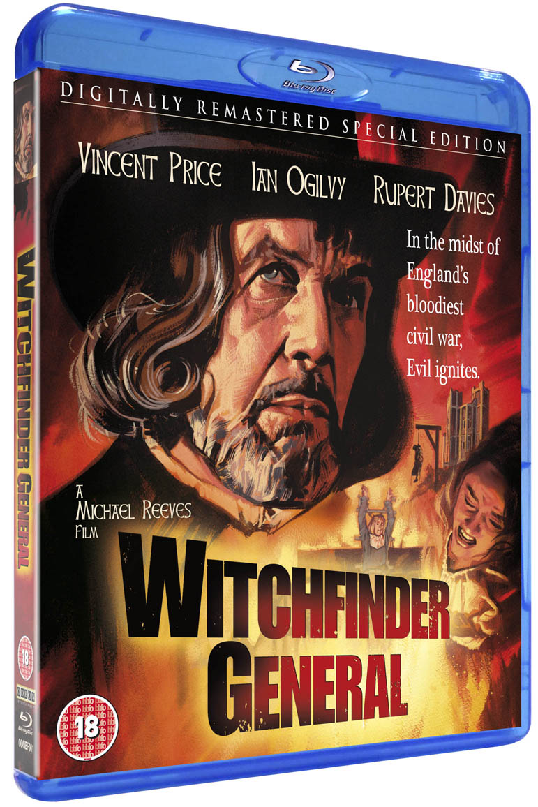 Witchfinder General - blu-ray cover