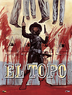 El Topo re-release poster by Graham Humphreys