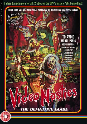 Video Nasties - DVD cover
