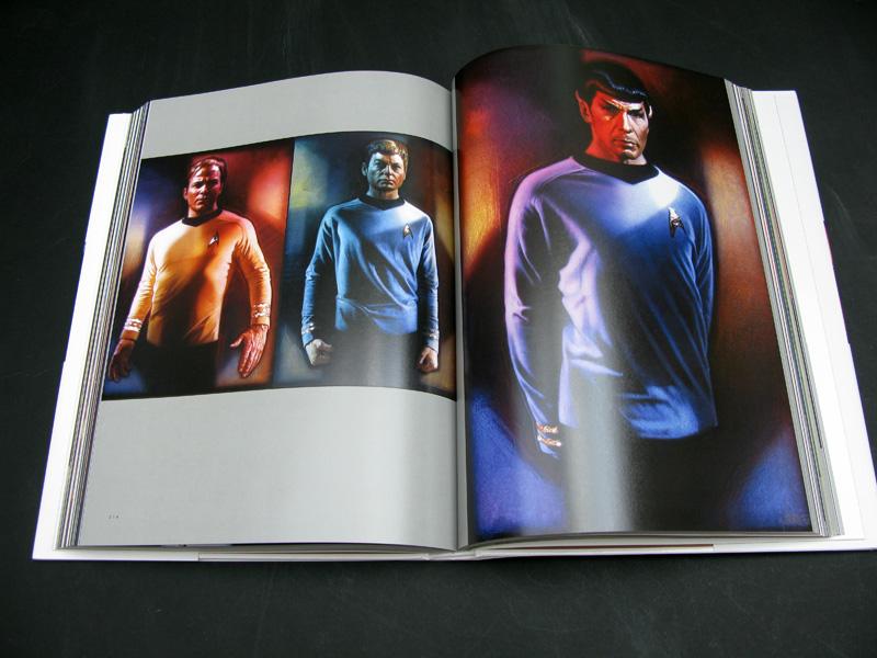 Star Trek - the original crew of the Enterprise