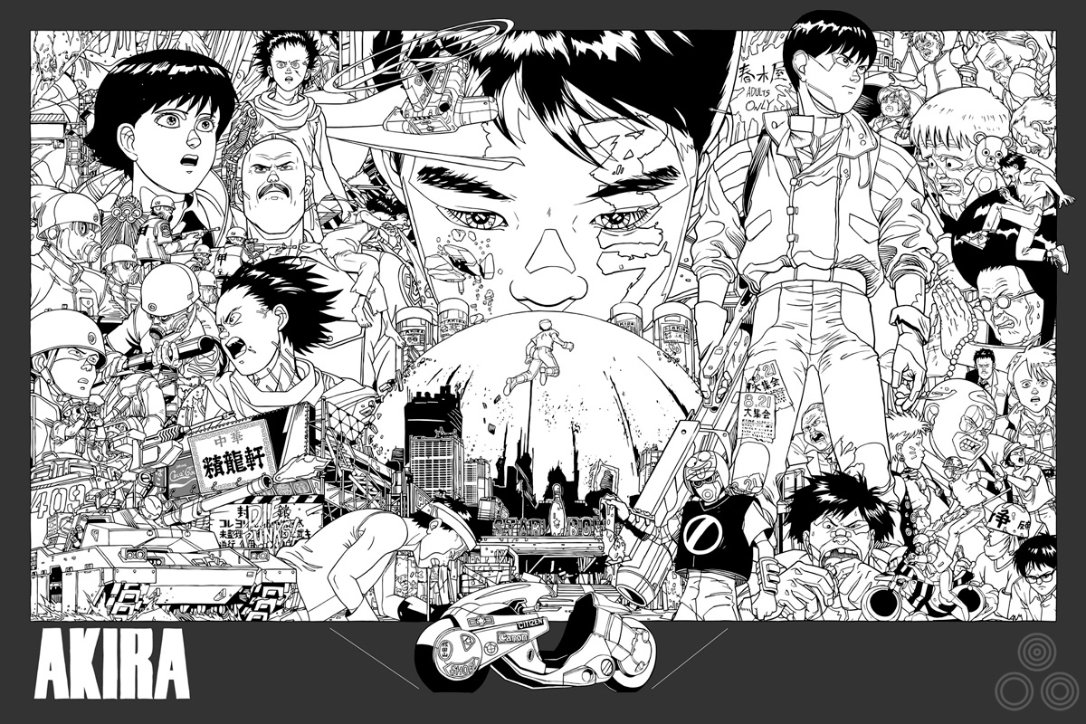 Tyler: 'Another layout test, further into the creation of the poster' – Image copyright © Tyler Stout, 2011
