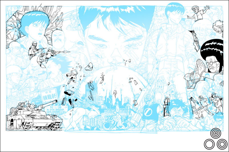 Tyler: 'This is a work in progress shot where I'm trying out a layout option.' – Image copyright © Tyler Stout, 2011
