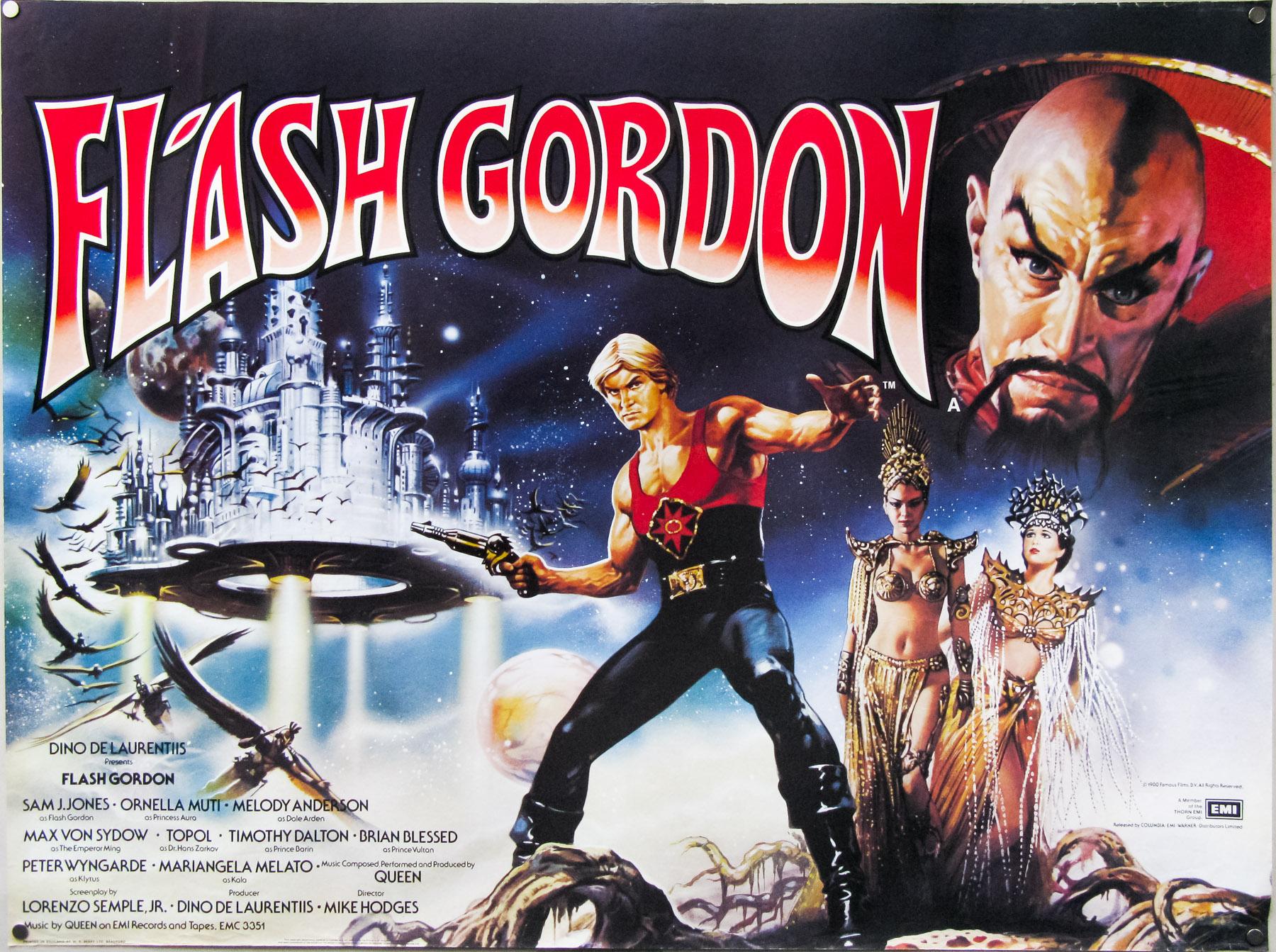 Flash Gordon / quad / UK