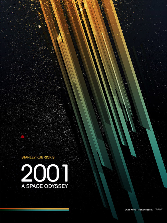 2001: A Space Odyssey V1 - design by James White [Signalnoise]