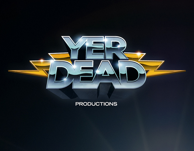 Yer Dead Productions - logo design by James White [Signalnoise]