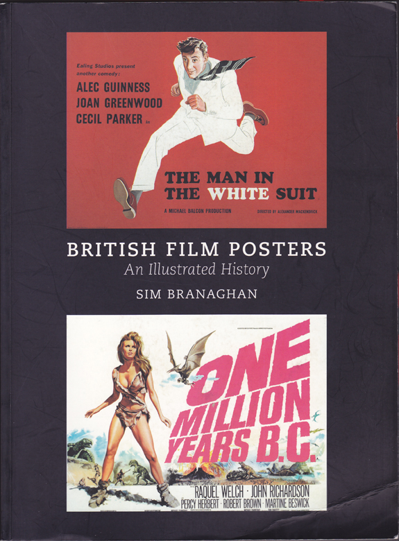 The cover of British Film Posters by Sim Branaghan
