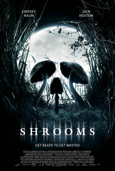 Shrooms - one sheet - designed by John Pennington at Ho-Ha