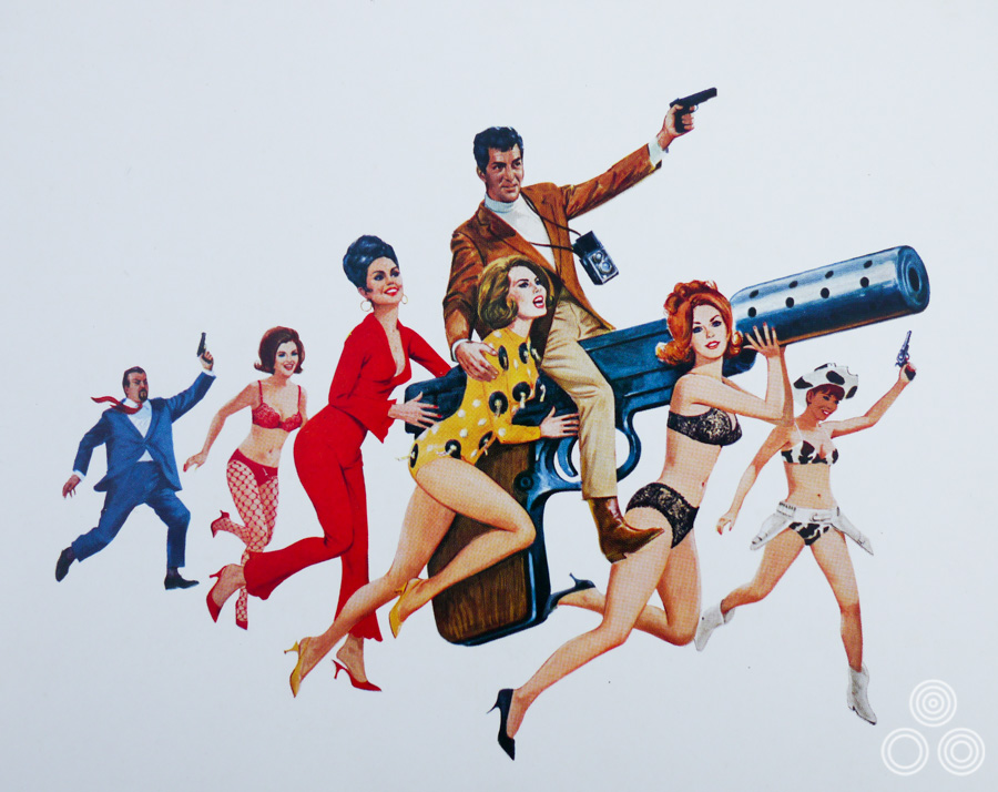 The artwork for Matt Helm by Brian Bysouth, 1966