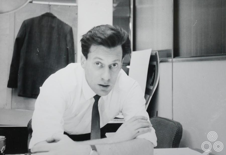 Tom Beauvais looking dapper in the Chapman Beauvais office, circa 1972