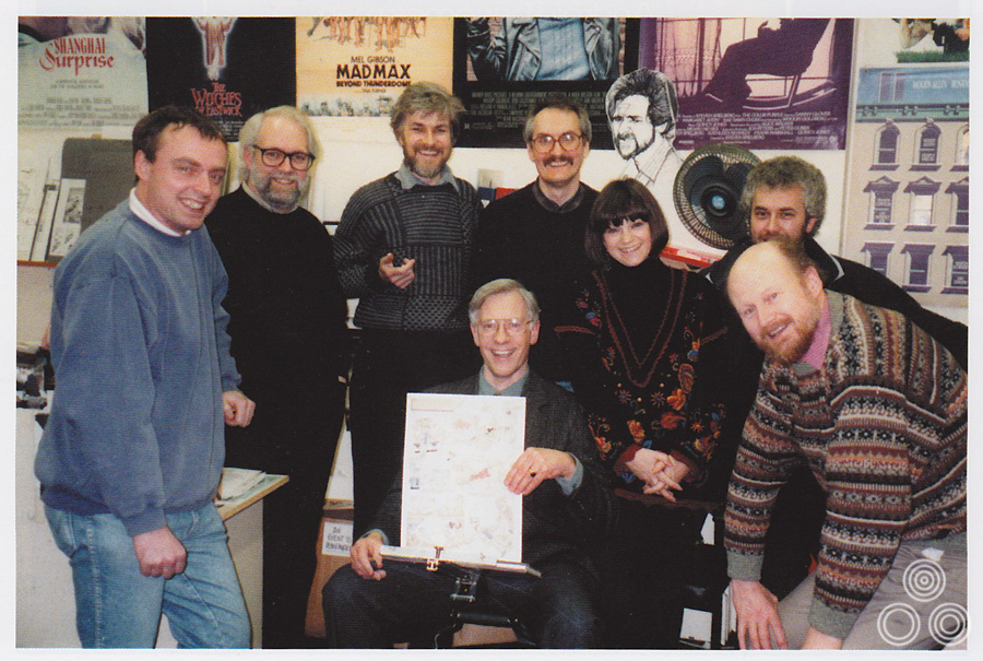 The day of Tom Beauvais' retirement from Chapman Beauvais in 1992.