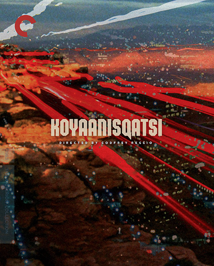 The final design for the cover of the Koyaanisqati Criterion release by Sam's Myth, 2012