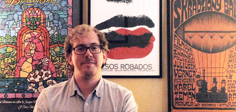 The designer, artist and musician Sam Smith, June 2013