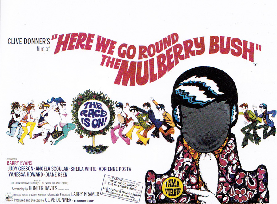 Here We Go Round the Mulberry Bush - final printed quad - Vic Fair, 1968