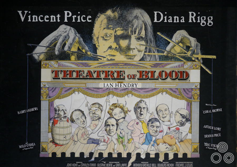 Theatre of Blood - original artwork - Vic Fair, 1973