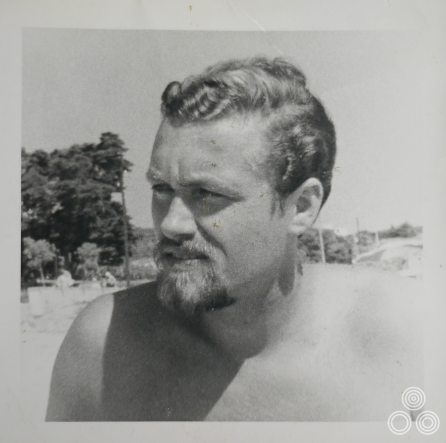 Vic Fair on holiday in Spain, circa 1958