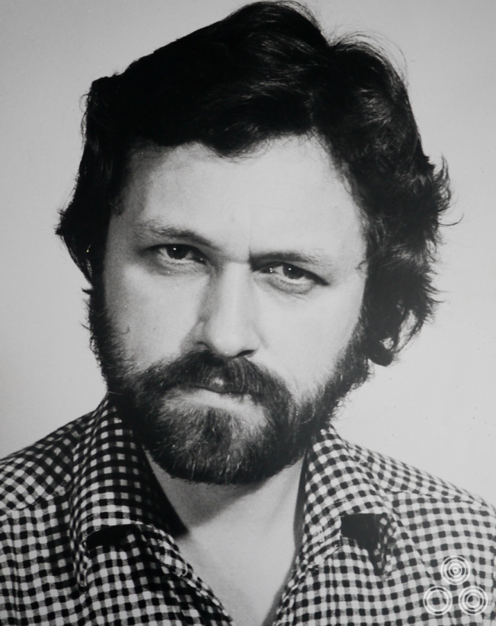 Vic Fair in a serious mood on this headshot taken for work, circa 1974.