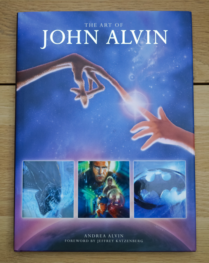 The Art of John Alvin - front cover of book